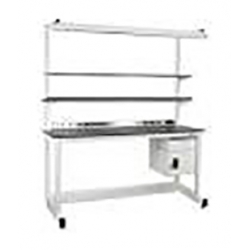 Dewey Series Workbenches With Cleanroom Laminate Top - Fisherbrand - 36 in. Deep