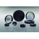 CAP-00114'CAP-00114 - 13-425 - Black Phenolic Screw Caps, Pulp/Aluminum Foil Liner, Qorpak - Pack of 100