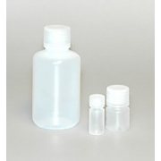 Leak Resistant HDPE Bottles with Caps 0.5 oz.  - Case Of 72