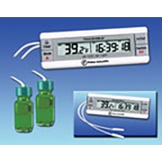 Traceable Dual Thermometer with Min./Max. and Time/Date w/Two bottle probes